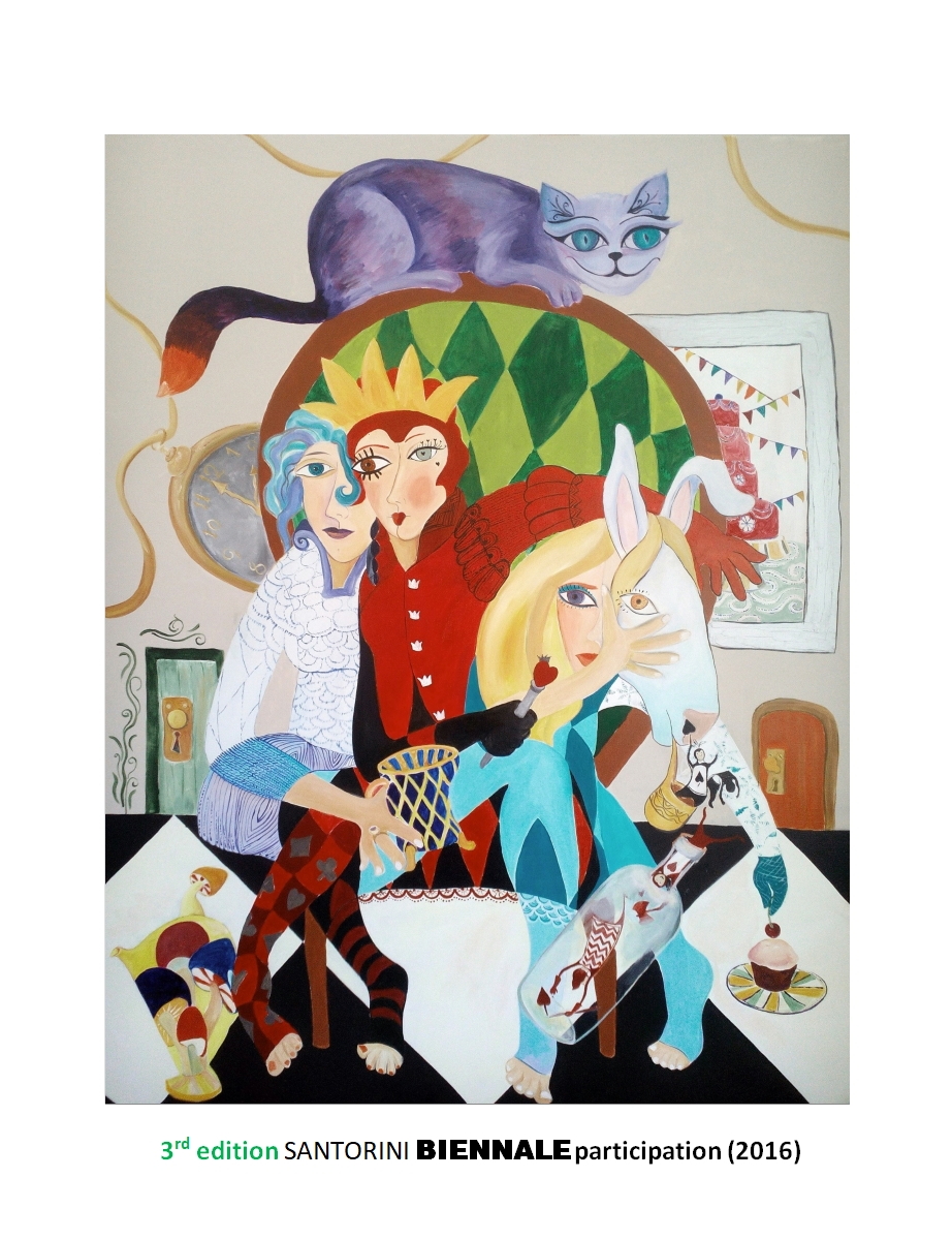 Alice in Wonderland (2016) – Acrylic on Canvas